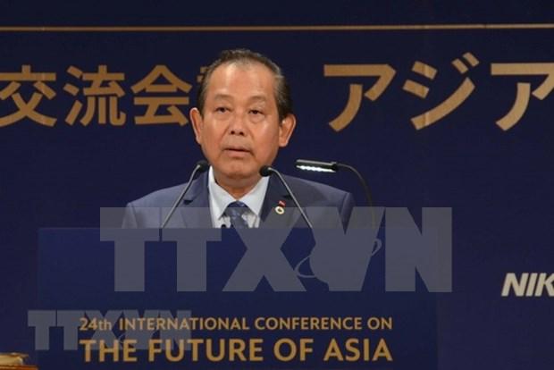 Vicepremier de Vietnam interviene en XXIV Conferencia Internacional sobre el Futuro de Asia hinh anh 2