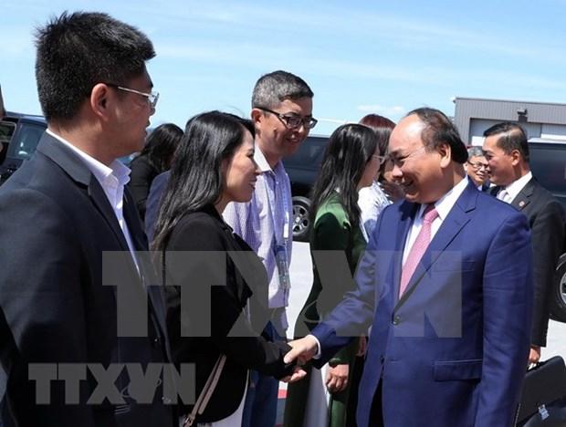 Premier de Vietnam regresa a Hanoi tras participar en cumbre G7 en Canada hinh anh 1