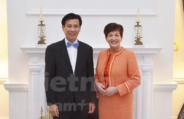 Nueva Zelanda saluda contribucion de Vietnam a organizaciones multilaterales hinh anh 1