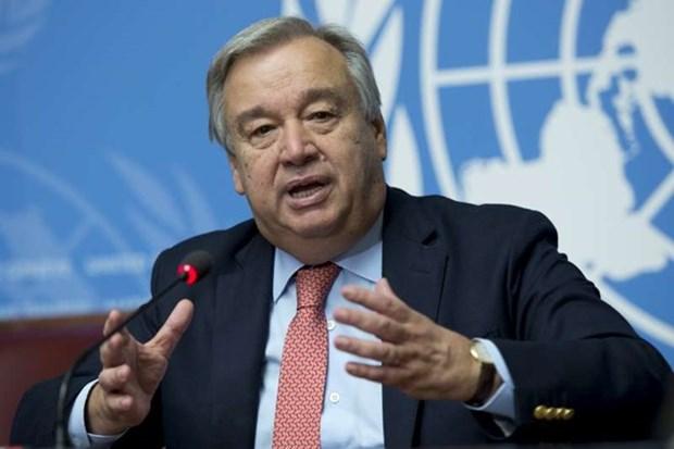 Antonio Guterres resalta papel de Vietnam en foros multilaterales hinh anh 1