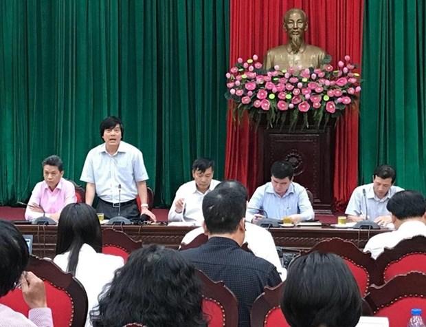 Mas de mil 500 delegados asistiran a la conferencia sobre inversion y desarrollo de Hanoi hinh anh 1