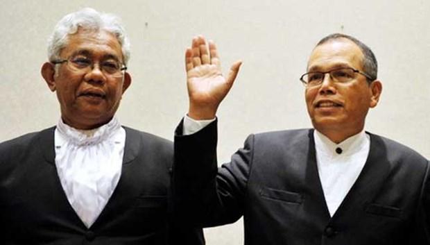 Renuncian maximos jefes de tribunales de Malasia hinh anh 1