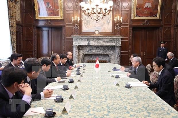 Vicepremier de Vietnam sostiene reuniones con dirigentes de Japon e Indonesia hinh anh 1