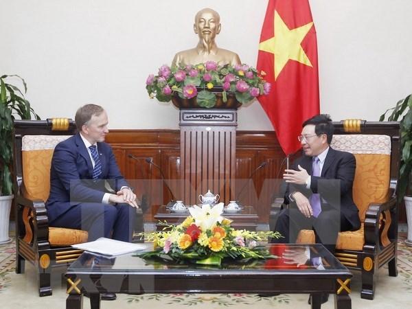 Vietnam aprecia relaciones con Letonia, afirma vicepremier y canciller hinh anh 1