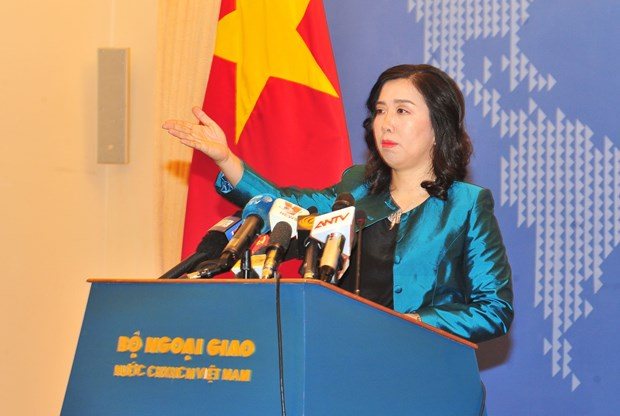 Cancilleria vietnamita ratifica importancia de Ley de Seguridad Cibernetica hinh anh 1