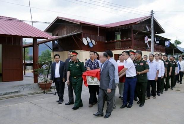 Repatrian restos de combatientes voluntarios vietnamitas caidos en Laos hinh anh 1