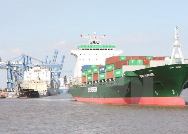 Atraca buque portacontenedores MSC Rosaria en puerto vietnamita hinh anh 1