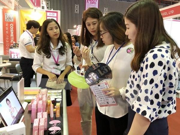 Inaugurada Mekong Beauty Show 2018 en Ciudad Ho Chi Minh hinh anh 1