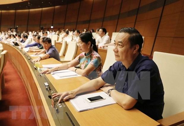 Asamblea Nacional de Vietnam aprueba proyecto de Ley de Geodesia y Cartografia hinh anh 1