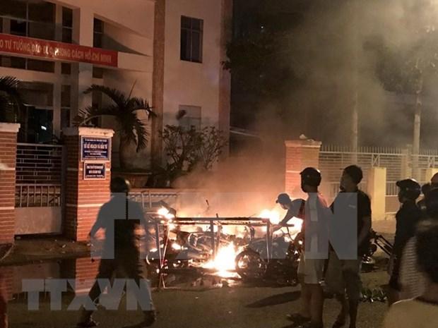 Detienen a individuos extremistas que provocan desorden social en provincia vietnamita hinh anh 1