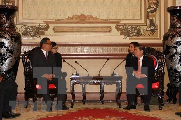 Ciudad Ho Chi Minh dispuesta a compartir experiencias en desarrollo socioeconomico con Micronesia hinh anh 1
