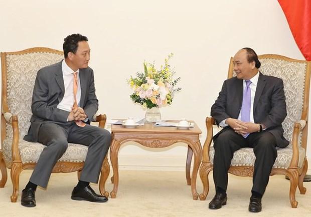 Primer ministro vietnamita recibe al nuevo embajador sudcoreano hinh anh 1
