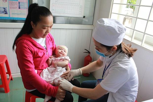 Se inaugura Semana nacional de vacunacion en provincia vietnamita de Dak Lak hinh anh 1