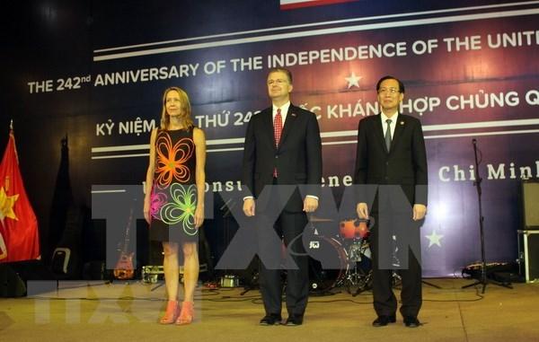 Celebran en Ciudad Ho Chi Minh Dia de la Independencia de Estados Unidos hinh anh 1