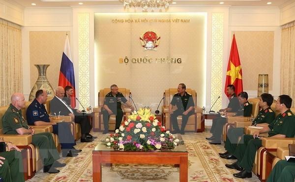 Vietnam y Rusia intensifican colaboracion en mision de paz de ONU hinh anh 1