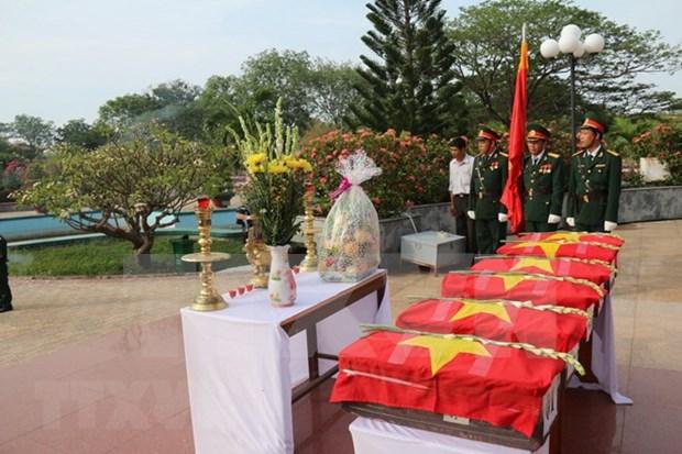 Inhuman en Dien Bien restos de combatientes voluntarios vietnamitas en Laos hinh anh 1