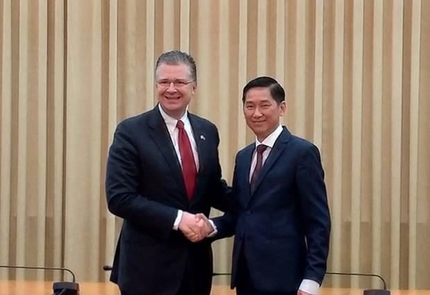 Ciudad Ho Chi Minh busca impulsar la cooperacion medica con Estados Unidos hinh anh 1