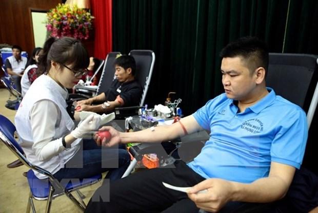 Vietnam celebra Dia Internacional del Donante de Sangre con diversas actividades hinh anh 1