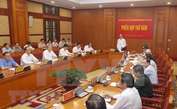 Presidente instruye reforma de la ejecucion penal hinh anh 1
