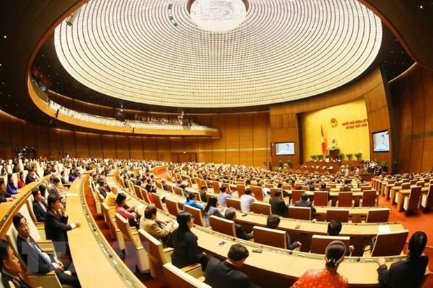 Parlamento vietnamita: de discursos preparados a debates instantaneos hinh anh 1