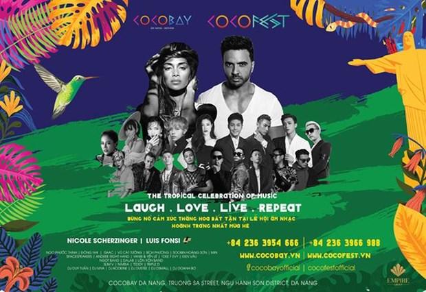 Nicole Scherzinger se suma a Luis Fonsi para fiesta musical Cocofest en Vietnam hinh anh 1