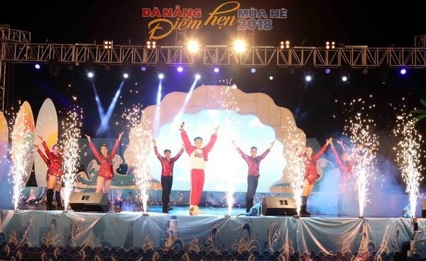 Celebran en Da Nang programa en saludo al verano 2018 hinh anh 1