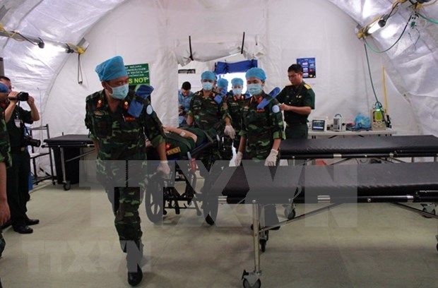 Hospital de campana de Vietnam listo para misiones en Sudan del Sur hinh anh 1
