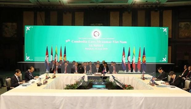 Vietnam contribuye a promover desarrollo sostenible en la subregion del Mekong hinh anh 1