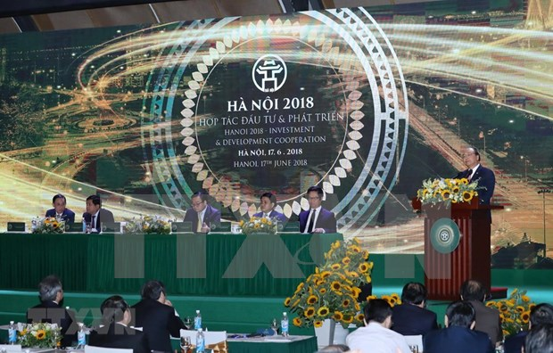 Hanoi debe ser pionera en construccion de urbe inteligente, exhorta premier hinh anh 1