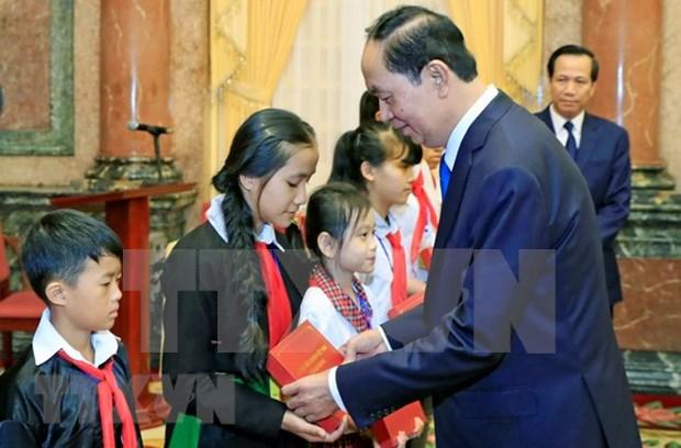 Presidente de Vietnam destaca logros en proteccion y cuidado infantil hinh anh 1