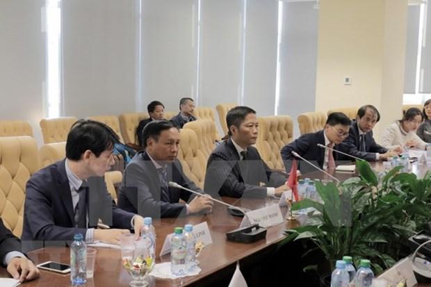 Vietnam y la Union Economica Euroasiatica por aprovechar ventajas del tratado de libre comercio hinh anh 1