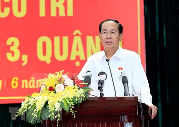 Ley de ciberseguridad de Vietnam concuerda con Constitucion y regulaciones globales, asegura presidente hinh anh 1
