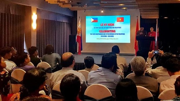 Conmemoran en Ciudad Ho Chi Minh Dia de la Independencia de Filipinas hinh anh 1