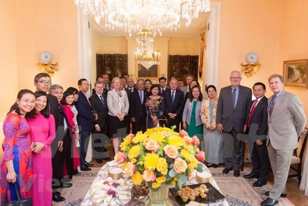 Destacan contribucion de embajador vietnamita a la relacion Vietnam-EE.UU. hinh anh 1