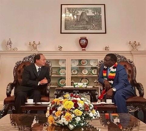 Zimbabwe y Vietnam promoveran lazos en comercio, inversion y educacion hinh anh 1