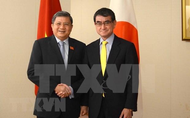 Vietnam y Japon impulsan nexos parlamentarios y asistencia en CPTPP hinh anh 1