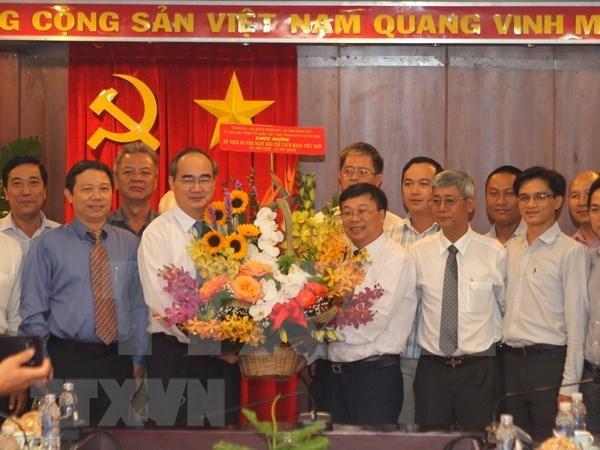 VNA divulga activamente informaciones de Ciudad Ho Chi Minh hinh anh 1