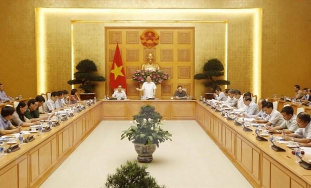 Vietnam asigna tareas para la lucha contra lavado de dinero hinh anh 1