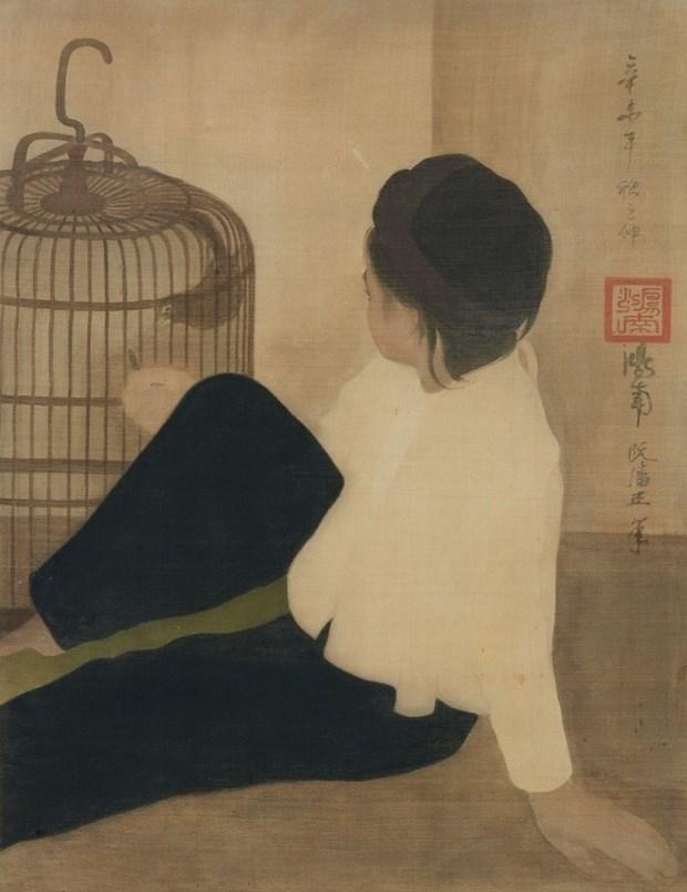 Pinturas vietnamitas apasionan a coleccionistas de arte hinh anh 2