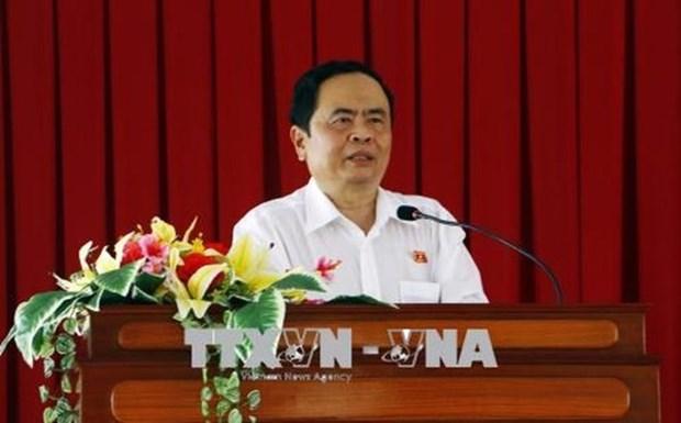 Transmite felicitacion dirigente del Frente de Patria de Vietnam por el Dia de la Prensa Revolucionaria hinh anh 1