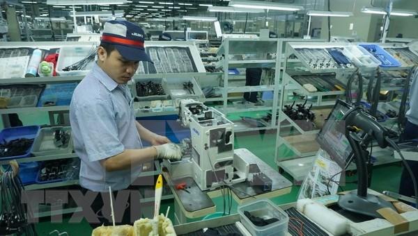Empresas vietnamitas muestran su potencial en exposicion de tecnologia en Japon hinh anh 1