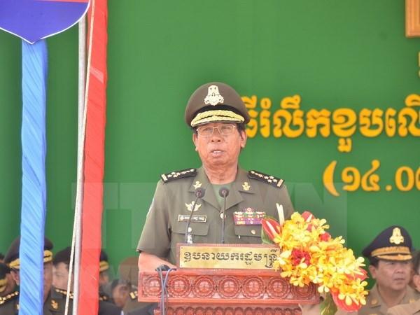 Vicepremier camboyano destaca respaldo de pueblo vietnamita hinh anh 1