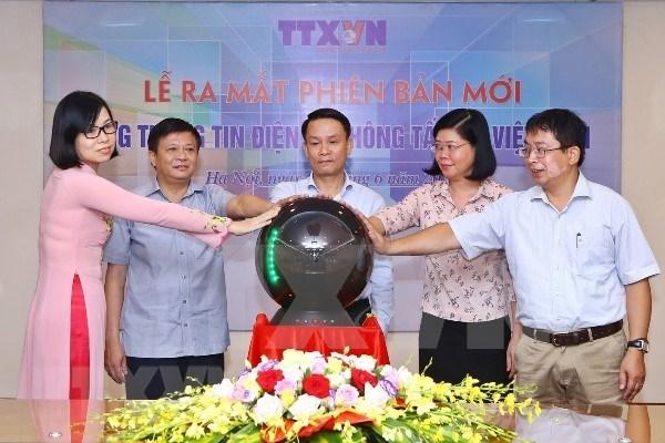 VNA moderniza su portal electronico coincidiendo con el Dia de la Prensa hinh anh 1