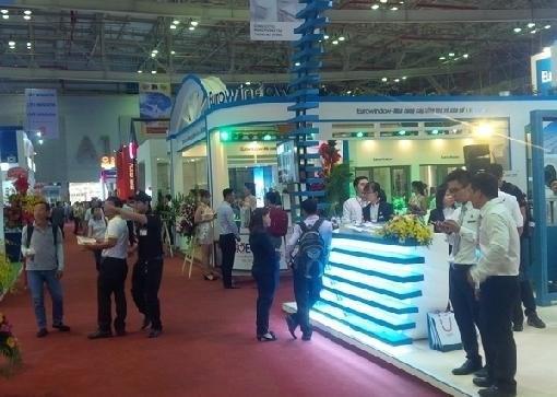 Exhiben productos inmobiliarios y materiales de construccion en Ciudad Ho Chi Minh hinh anh 1
