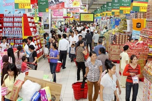 Empresas de venta minorista vietnamitas impulsan operaciones en zonas rurales hinh anh 1