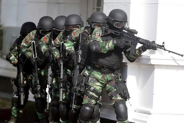 Indonesia arresta a 10 individuos por posibles vinculos con redes terroristas hinh anh 1