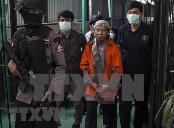 Indonesia condena a muerte al ideologo de varios ataques terroristas hinh anh 1