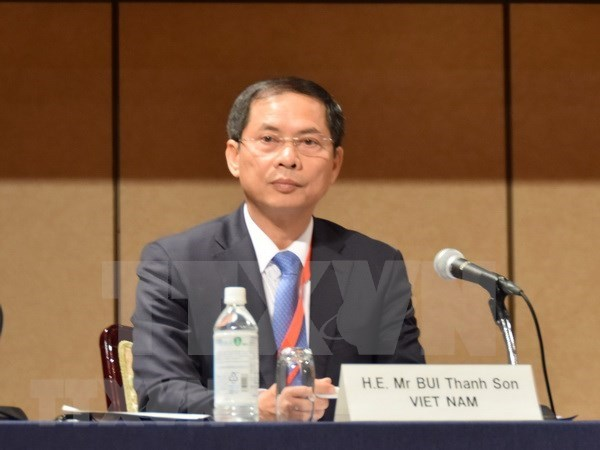 Vicecanciller vietnamita visita Singapur e India para reforzar lazos de cooperacion hinh anh 1