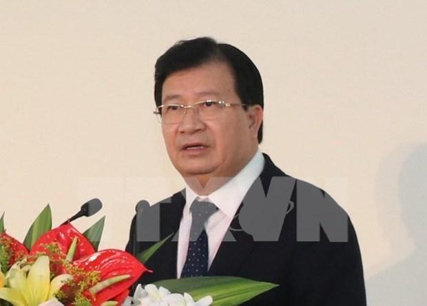 Vicepremier vietnamita pide acelerar proyecto de autopista Norte-Sur hinh anh 1
