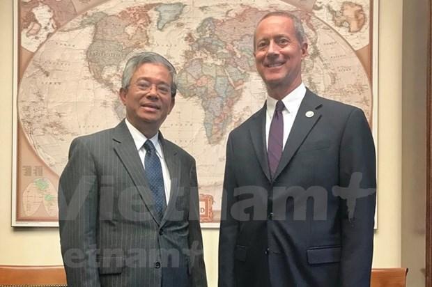 Vietnam y Estados Unidos acuerdan fortalecer nexos legislativos hinh anh 1